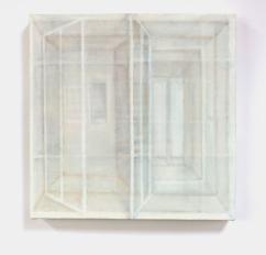 Perch, 2017/2018 oil on canvas 30cm x 30cm