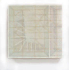 Stowaway, 2017/2018, oil on canvas 24cm x 24cm